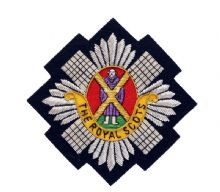Royal Scots Blazer Badge (Wired)